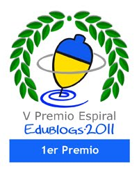 BibliotecaViva 1r Premi Edublogs 2011
