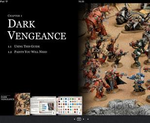 Guía de pintura de Warhammer 40000: Venganza Oscura