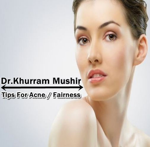 Khurram Mushir Fairness Tips