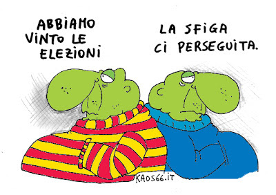 Vignetta - meglio non vincere le elezioni