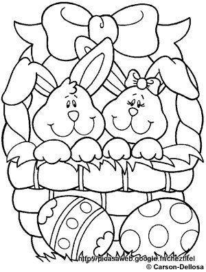 Desenhos de Coelho para Colorir