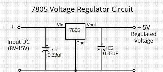 voltage regulator circuit diagram  super circuit diagram, wiring diagram