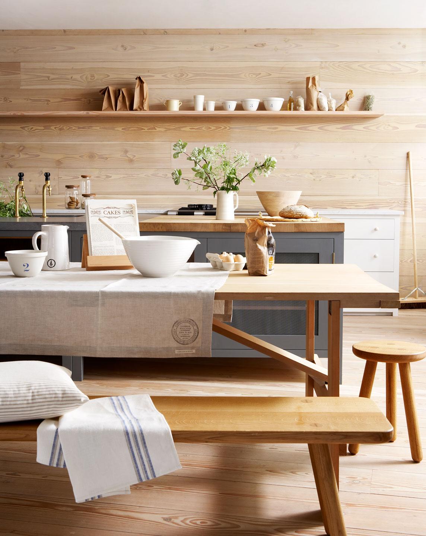 Chicdeco blog una preciosa cocina en madera naturala - Muebles de cocina madera ...