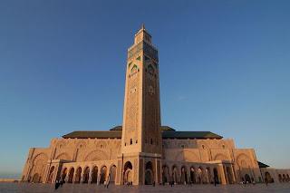 Masjid Hassan II di Casablanca,data 7 masjid terbesar dan termegah