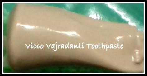 Vicco Vajradanti Ayurvedic Toothpaste review