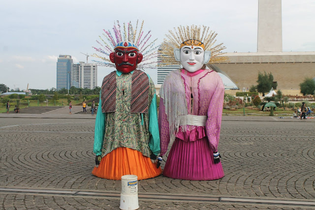 Ondel-ondel Betawi Jakarta