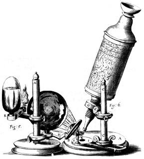 17th c - Hooke's Microscope