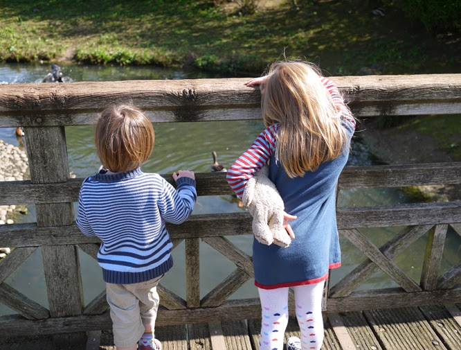 visiting the Wetland centre