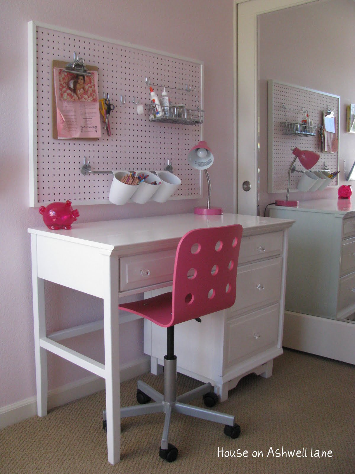Girls Room Organization Ideas