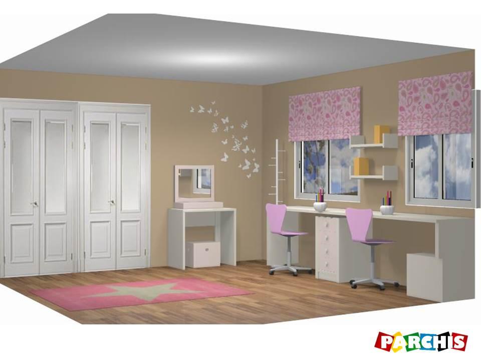 Muebles juveniles dormitorios infantiles y habitaciones - Dormitorios originales juveniles ...