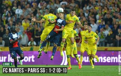 Nantes - Paris-SG : Le PSG reste leader de L1 ! (0-2)