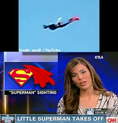 UFO Identified As 'Superman'
