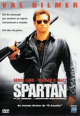 Filme Poster Spartan DVDRip XviD & RMVB Dublado