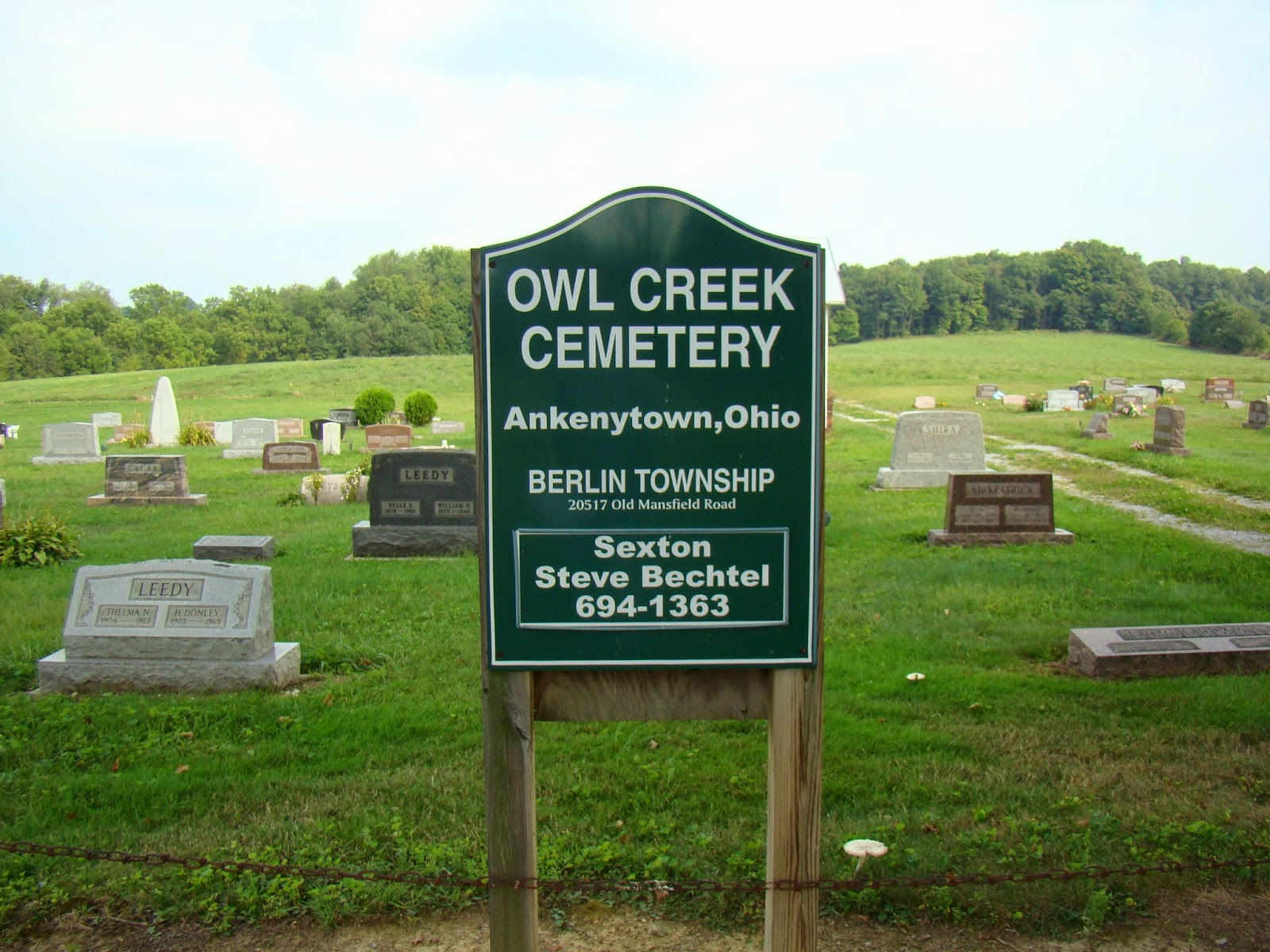 Bjm 39 S Cemetery Discoveries Tombstone Tuesday Owl Creek