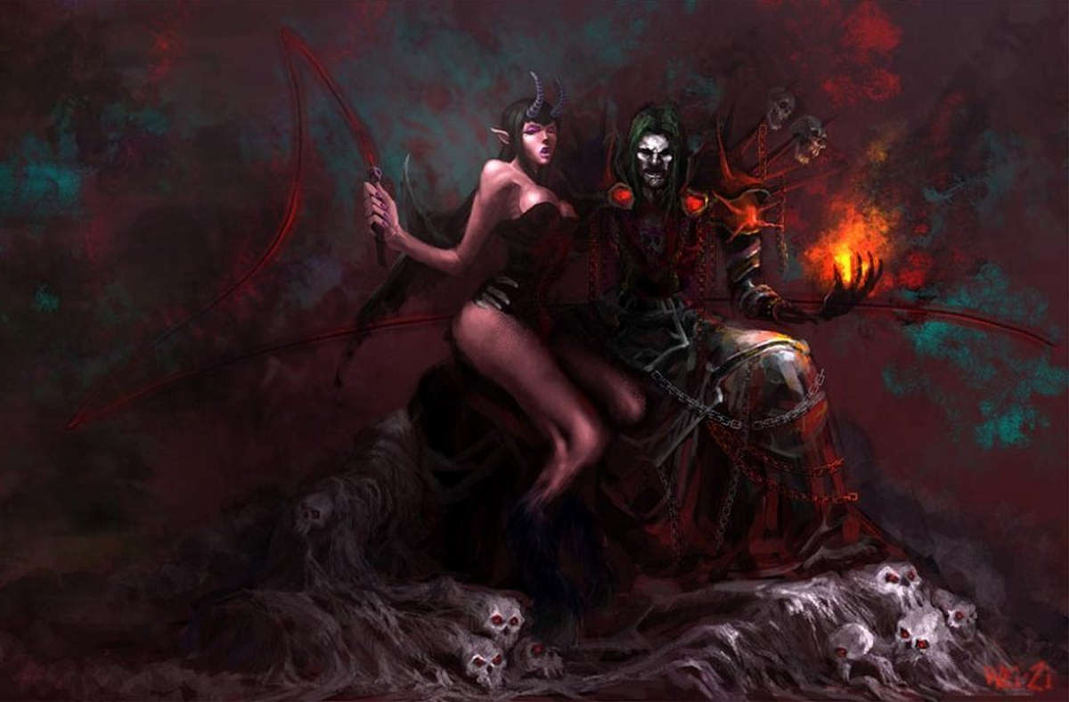 Jizzart warlock and succubus sexy pictures