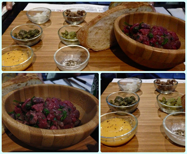 Solita Manchester - DIY Steak Tartare
