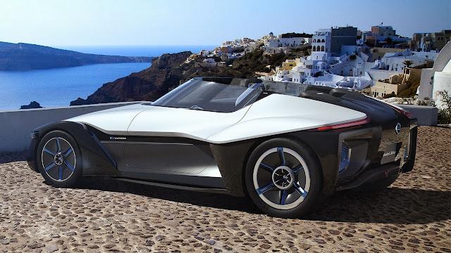 Nissan Bladeglider Concept side