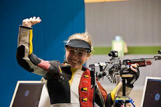 Lisa Ungerank - Áustria - Carabina de Ar - Copa do Mundo ISSF de Carabina e Pistola 2013 - Tiro Esportivo