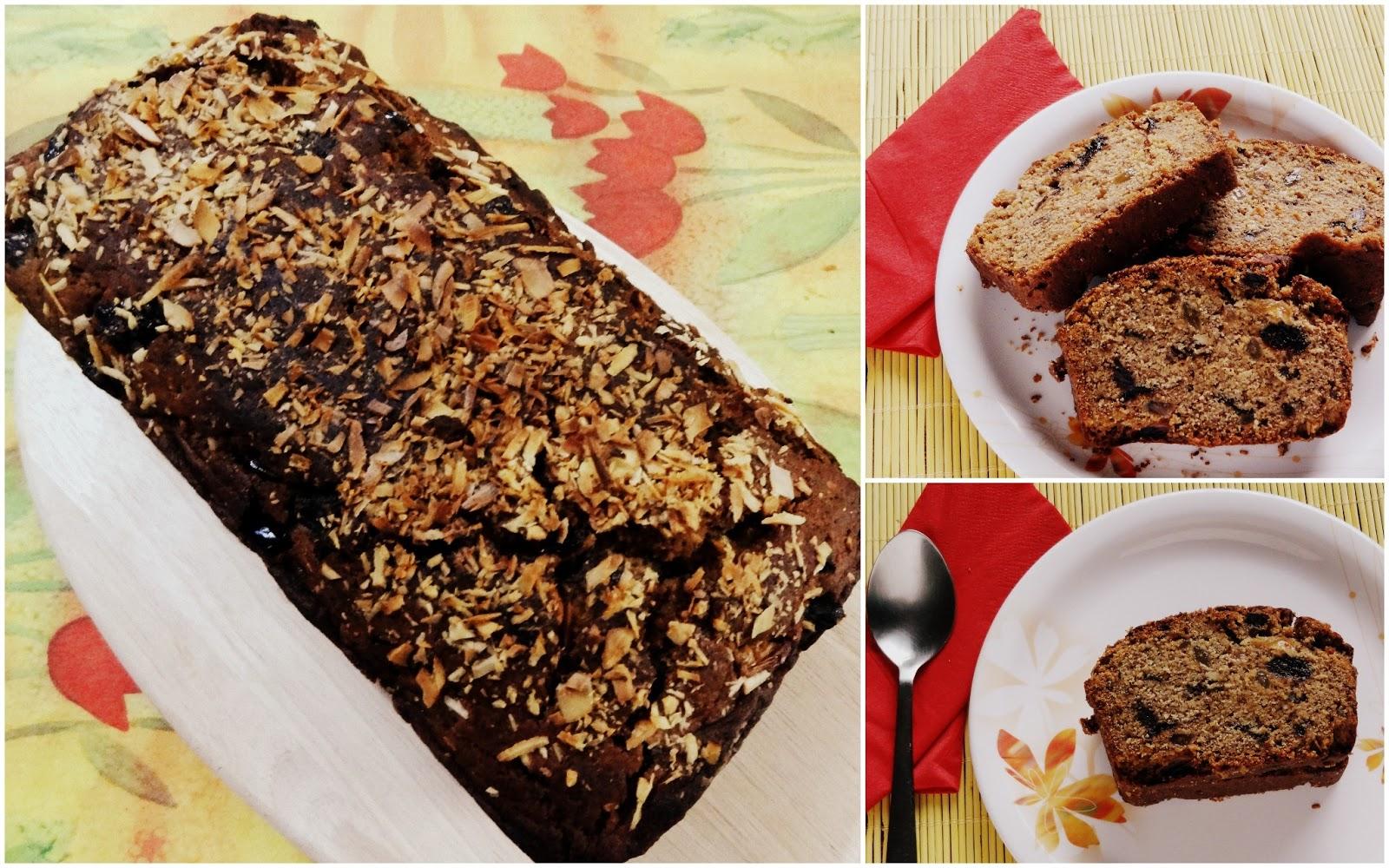 Soniaz Delights: Eggless Plum Cake