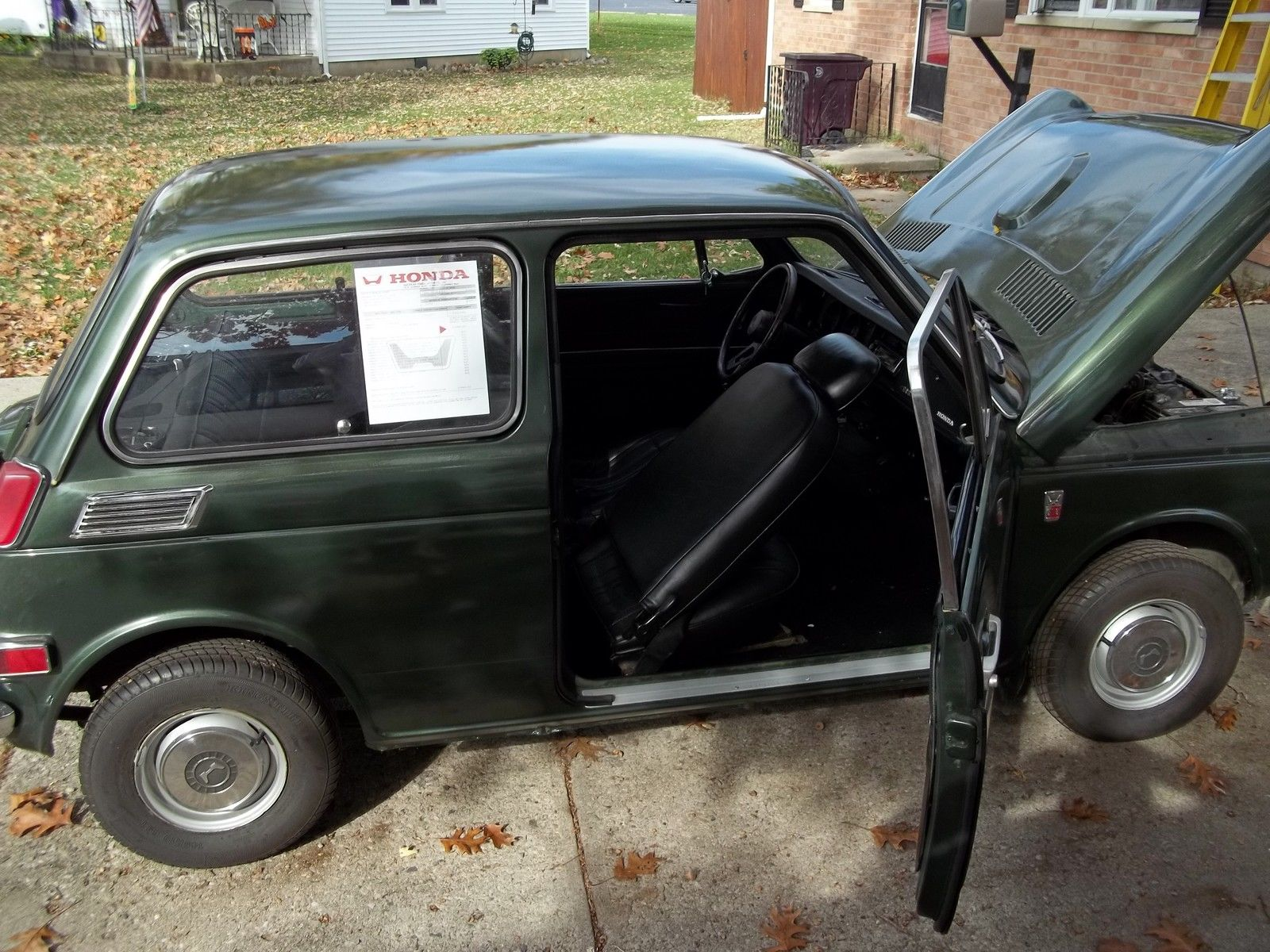 1971 Honda AN600 Sedan Rare Micro Japanese Car For Sale This Little Was Imported In To The USA Is And It Must Been A Scary Ride