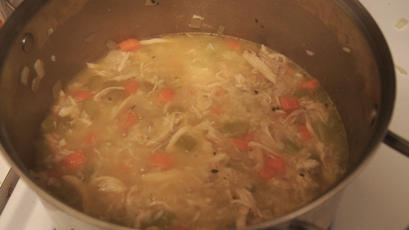 Elizabeth's Dutch Oven: Easy Chicken and Rice Soup