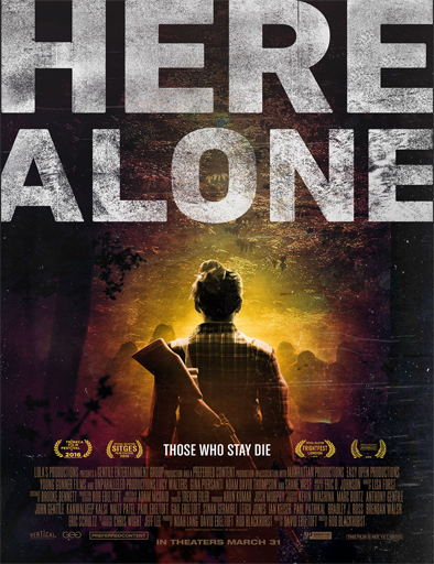 Ver Here Alone (2016) Online