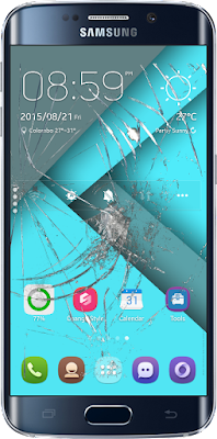 Cracked Screen எனும் Android செயலி