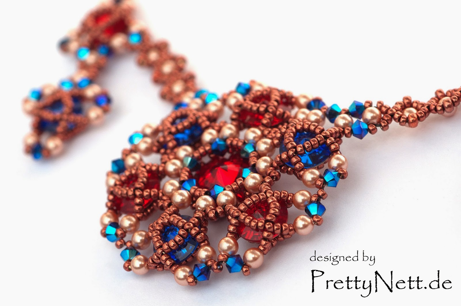 Necklace Arabesque designed by PrettyNett.de