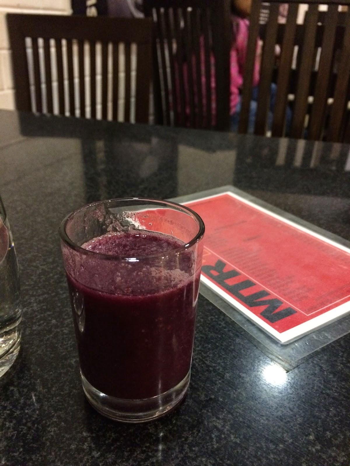 Pomegranate Juice at MTR Bangalore
