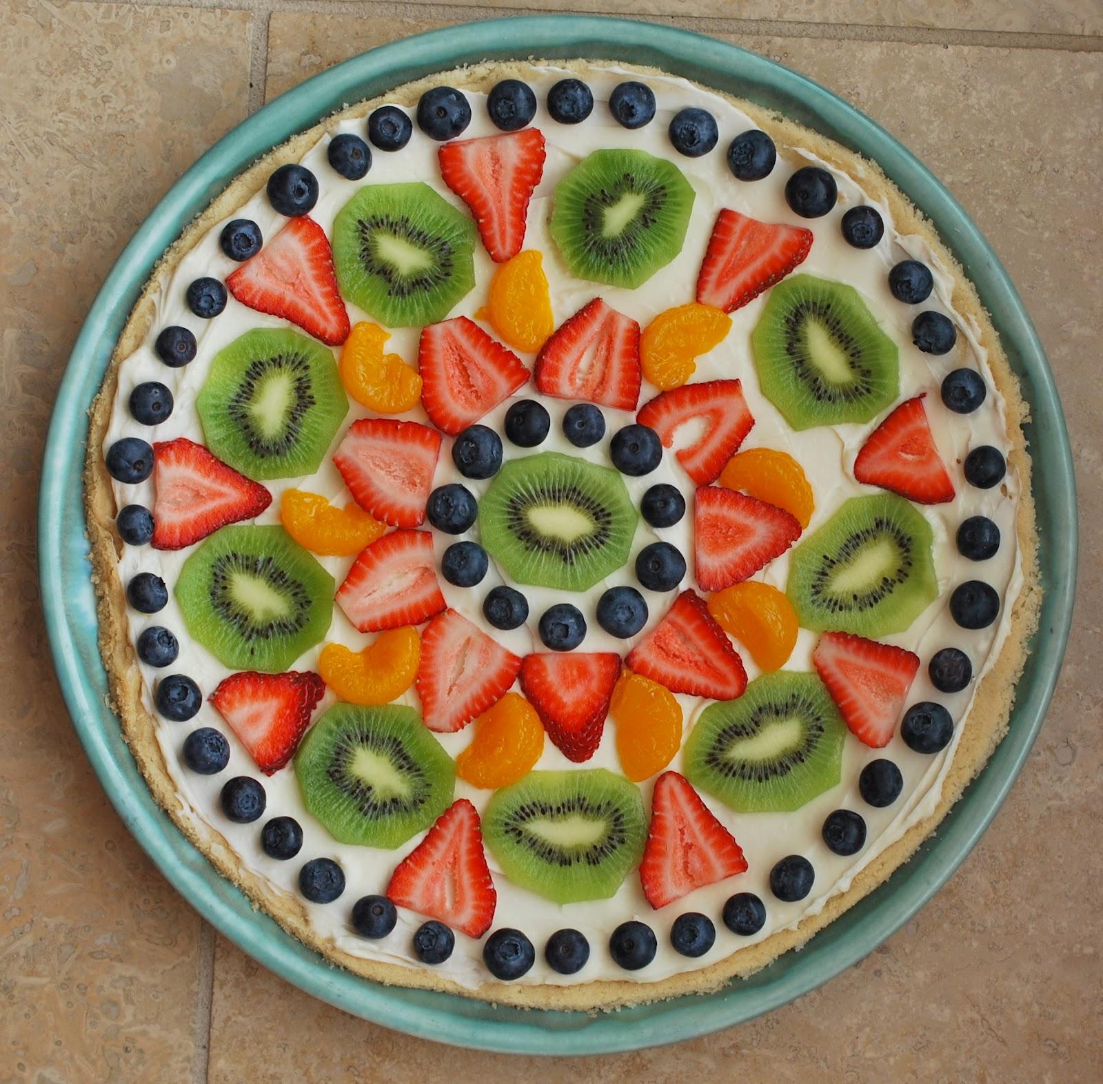 Fruit Pizza - Amanda Jane Brown