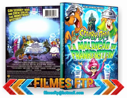 Scooby-Doo! E a Maldição do Frankenstein 2014 DVD-R