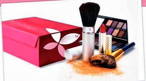 cajas de belleza con maquillaje