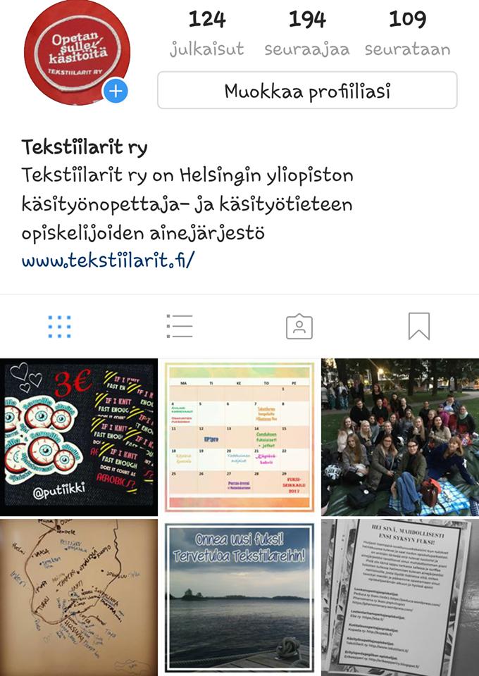Seuraa meitä instagramissa!