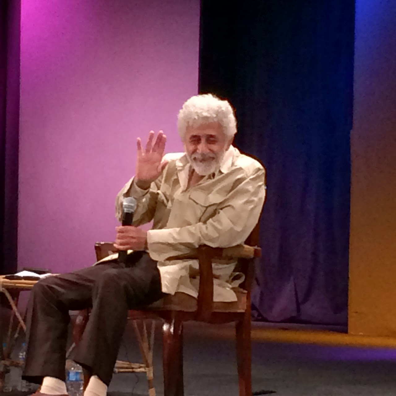 Naseeruddin Shah at The Napa Theatre Festival, Karachi