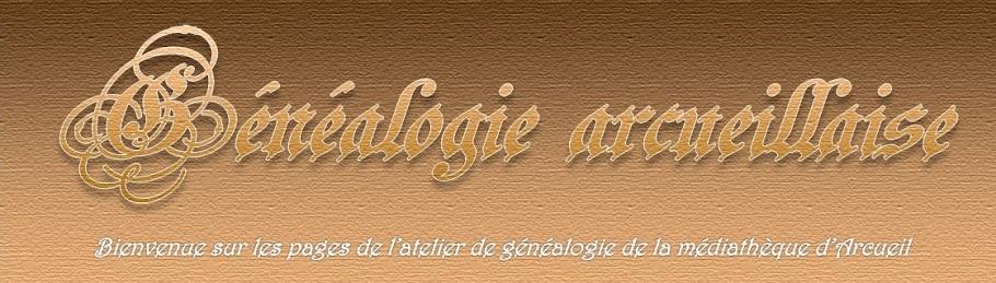 Généalogie arcueillaise : la page
