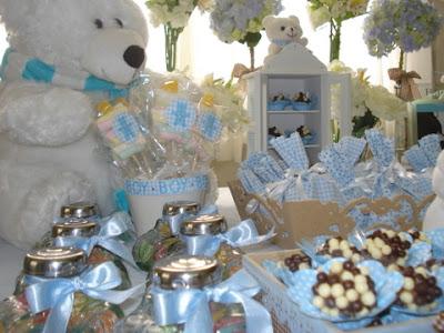 Dicas de decoração de chá de bebê gastando pouco -  Fotos e modelos