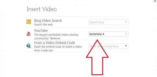 Cách chèn video online vào Word 2013 4