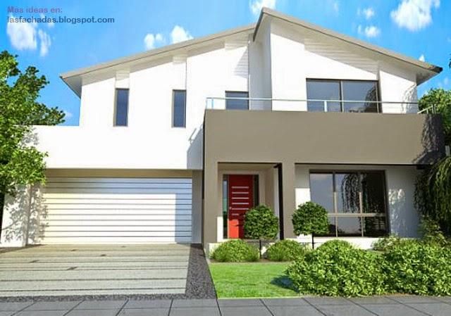 Fachadas de casas cl sicas fachadas de casas y casas por dentro - Casas clasicas modernas ...