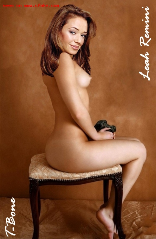 leah remini naked no fakes