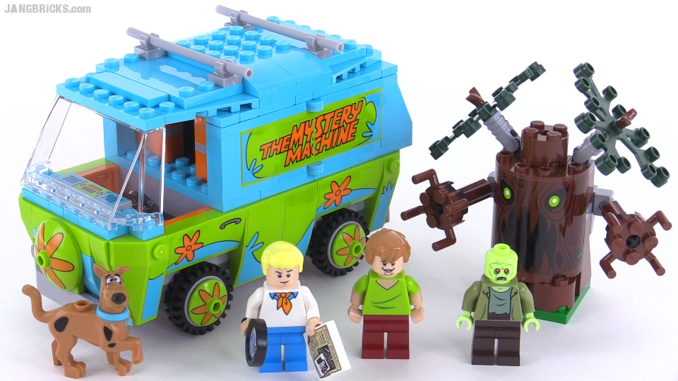 scooby mystery machine lego