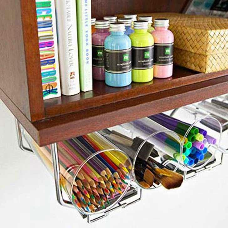 14 ideas que har n que tu espacio de trabajo se vea y este - Como organizar mi casa ...