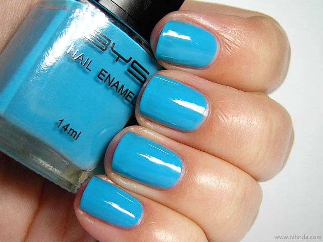 BYS Nail Polish in Blue Bang