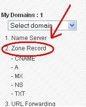 Cara Setting Domain Di co.cc