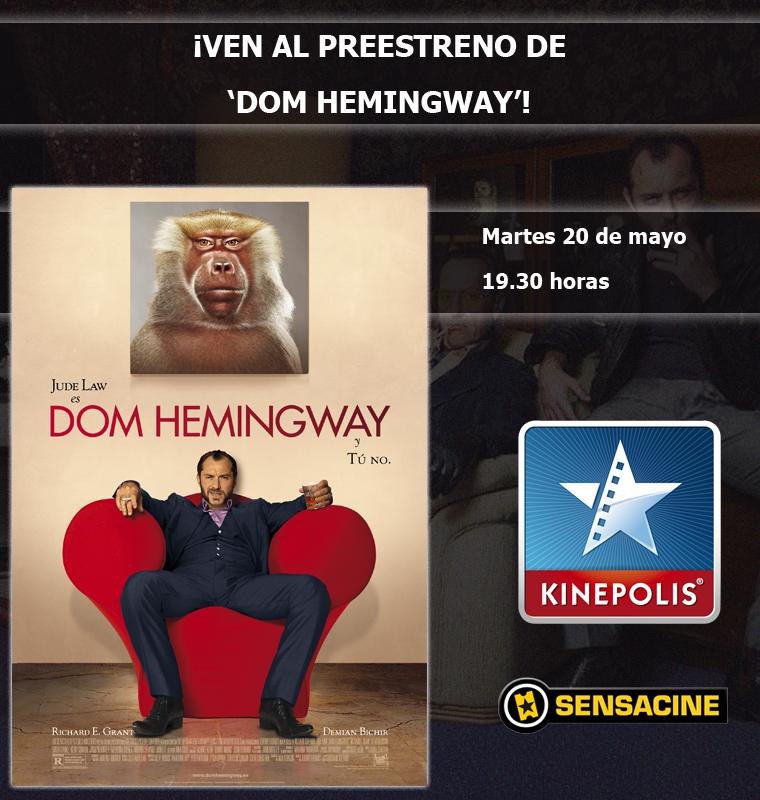 """Datos preestreno de """"Dom Hemingway"""" en Madrid"""