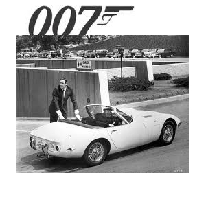 james bond e toyota