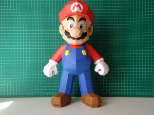 Super Mario Papercraft - Nintendo