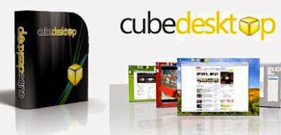 CubeDesktop Pro v1.4 With Serial Key Download Free
