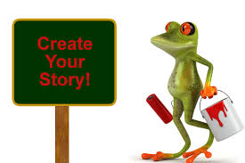 how to create a learning story