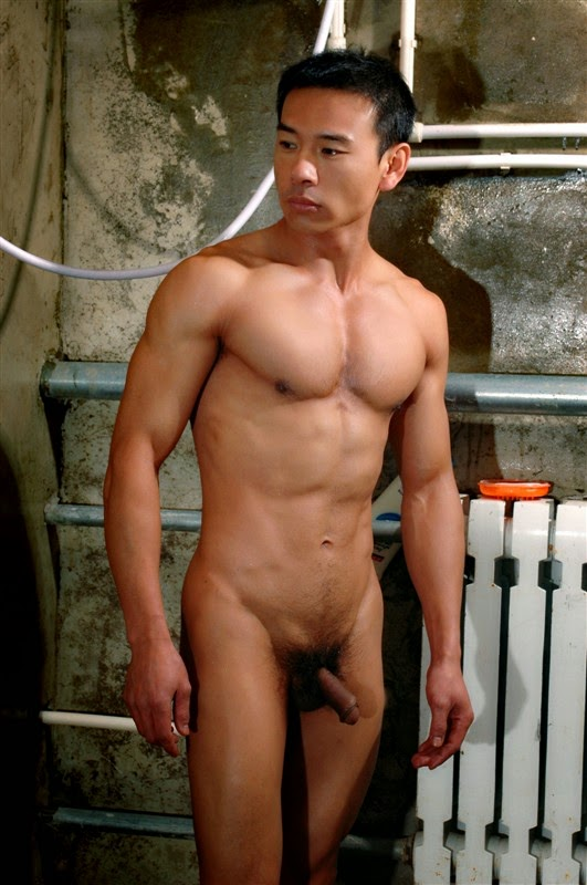 Chinese guys that are naked