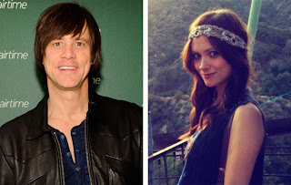 Jim Carrey and his ex Cathriona White